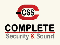 Complete Security and Sound Logo