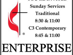 Enterprise First United Methodist Church Logo