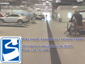 Mike Smith's Auto Collision Center Logo