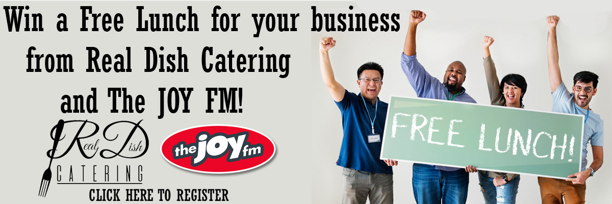 Win A Free Lunch for Your Business