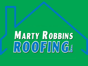 Marty Robbins Roofing Company Logo