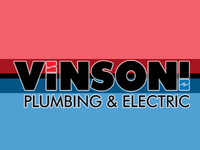 Vinson Plumbing and Electric Logo